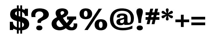 Albiona Bold Font OTHER CHARS