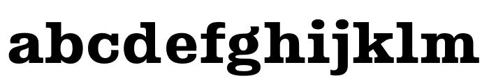 Albiona Heavy Font LOWERCASE