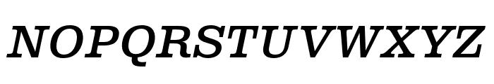 Albiona Medium Italic Font UPPERCASE