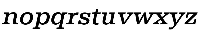Albiona Medium Italic Font LOWERCASE