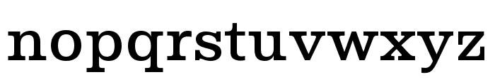 Albiona Medium Font LOWERCASE