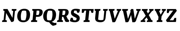 Alda OT CEV Bold Italic Font UPPERCASE
