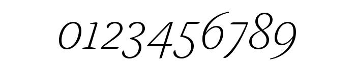 Alda OT CEV Light Italic Font OTHER CHARS