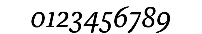 Alda OT CEV Regular Italic Font OTHER CHARS