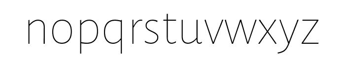 Alegreya Sans SC Italic Font LOWERCASE