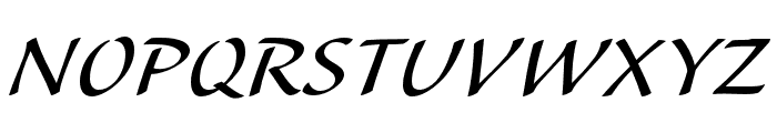 Alexa Std Regular Font UPPERCASE