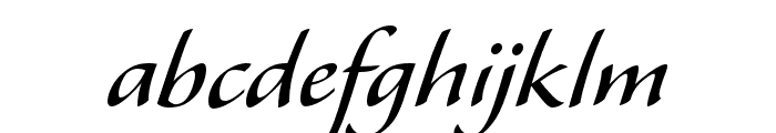 Alexa Std Regular Font LOWERCASE
