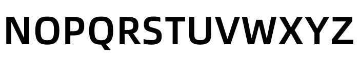 Alibaba PuHuiTi Medium Font UPPERCASE
