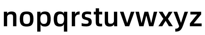 Alibaba PuHuiTi Medium Font LOWERCASE