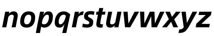 Alibaba Sans Bold Italic Font LOWERCASE