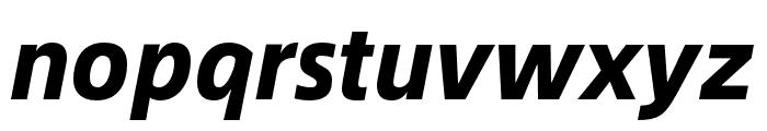 Alibaba Sans Heavy Italic Font LOWERCASE