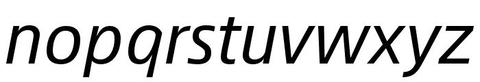 Alibaba Sans Italic Font LOWERCASE