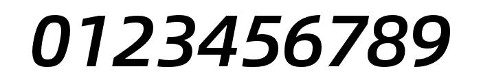 Alibaba Sans Medium Italic Font OTHER CHARS