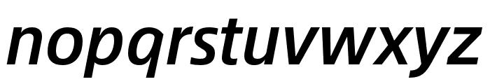Alibaba Sans Medium Italic Font LOWERCASE