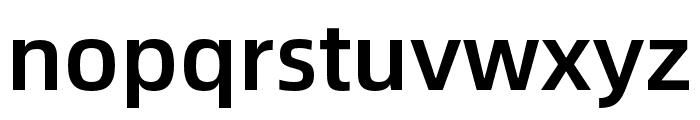 Alibaba Sans Medium Font LOWERCASE