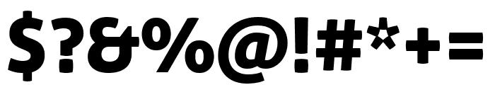 Aller Display Regular Font OTHER CHARS