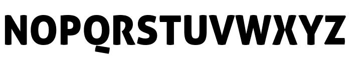 Aller Display Regular Font UPPERCASE