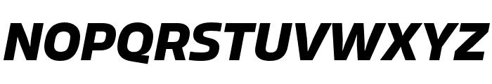 Allotrope Bold Italic Font UPPERCASE