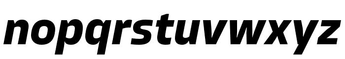 Allotrope Bold Italic Font LOWERCASE