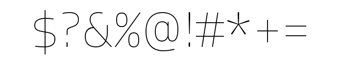 Allotrope Light Italic Font OTHER CHARS
