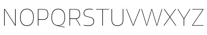 Allotrope Light Italic Font UPPERCASE