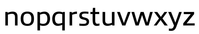Allumi Std Extended Book Font LOWERCASE