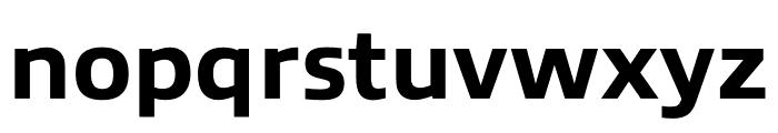 Allumi Std Extended ExtraBold Font LOWERCASE