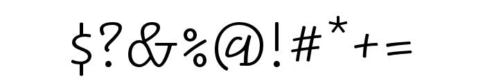 Alphatier Pro Light Font OTHER CHARS
