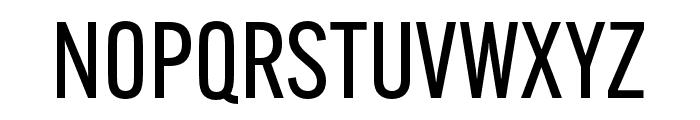 Alternate Gothic ATF Regular Font UPPERCASE
