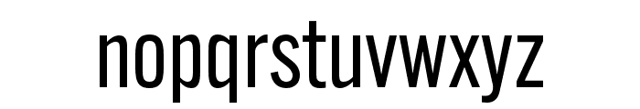 Alternate Gothic ATF Regular Font LOWERCASE
