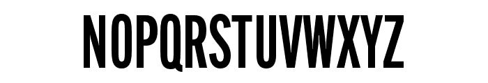 Alternate Gothic Compressed ATF Demi Font UPPERCASE