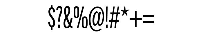 Alternate Gothic Compressed ATF Regular Font OTHER CHARS