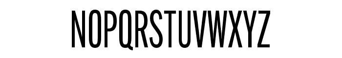 Alternate Gothic Compressed ATF Regular Font UPPERCASE