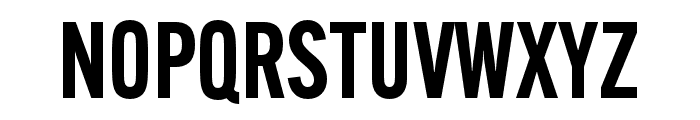 Alternate Gothic Condensed ATF Demi Font UPPERCASE