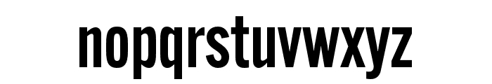 Alternate Gothic Condensed ATF Demi Font LOWERCASE