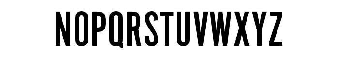 Alternate Gothic No2 D Regular Font UPPERCASE