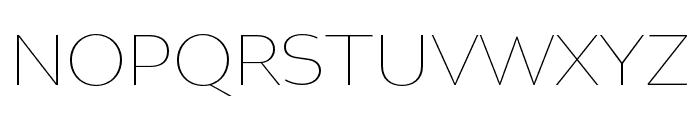 Altivo Light Italic Font UPPERCASE