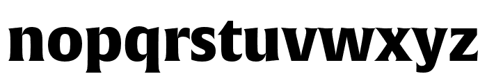 Alverata Informal Black Font LOWERCASE