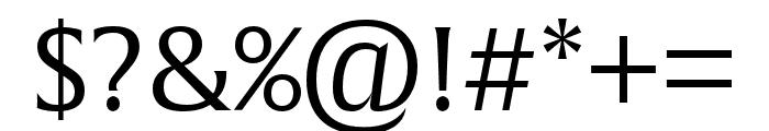 Alverata Informal Light Font OTHER CHARS