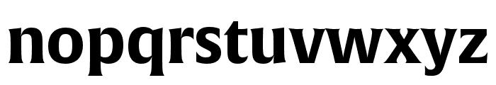 Alverata Irregular Bold Font LOWERCASE
