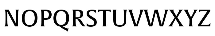 Alverata Irregular Regular Font UPPERCASE