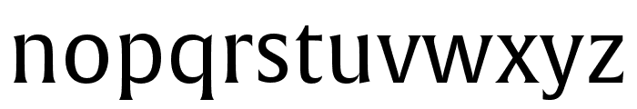 Alverata Irregular Regular Font LOWERCASE