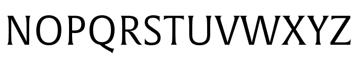 Alverata Light Italic Font UPPERCASE