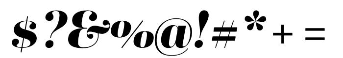 Ambroise Std ExtraBold Italic Font OTHER CHARS