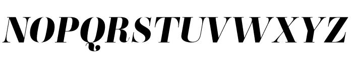 Ambroise Std ExtraBold Italic Font UPPERCASE