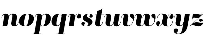 Ambroise Std ExtraBold Italic Font LOWERCASE