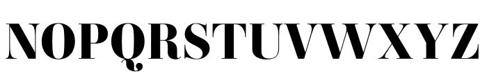 Ambroise Std ExtraBold Font UPPERCASE