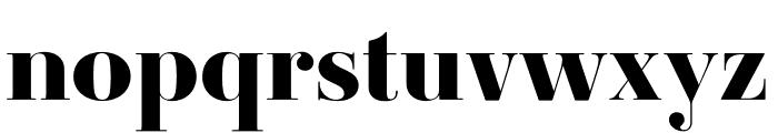 Ambroise Std ExtraBold Font LOWERCASE