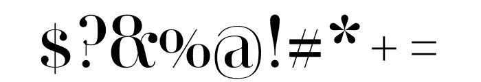 Ambroise Std Firmin Regular Font OTHER CHARS