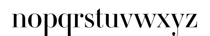 Ambroise Std Firmin Regular Font LOWERCASE
